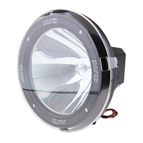 B Blesiya Lumières Dhi Xénon 12V Voiture Numérique Lampe Rechange Pièces De Moto - #4 Clair + Noir 9 Pouces