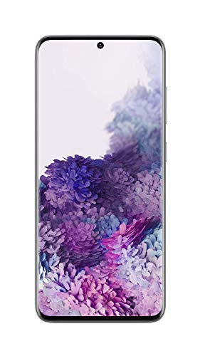Samsung Galaxy S20 5G Factory Unlocked New Android Cell Phone US Version | 128GB of Storage | Fingerprint ID and Facial Recognition | Long-Lasting Battery | Cosmic Gray