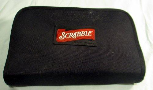 Scrabble Crossword Game Folio Travel Edition - Includes Zippered Storage Case