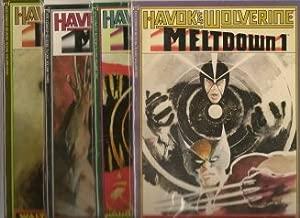 Havok & Wolverine Meltdown #1-#4 graphic novel set / X-Men