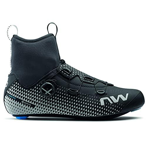 Northwave Celsius R Arctic GTX - Zapatillas de ciclismo para invierno (talla 44,5), color negro