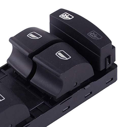 Controlador de interruptor de ventana, 1 unidad, color negro, lado del conductor...