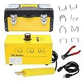 EGSTAOR Hot Stapler Plastic Repair Kit - 110V Car Bumper Plastic Welder Gun with 800PCS Staples -...