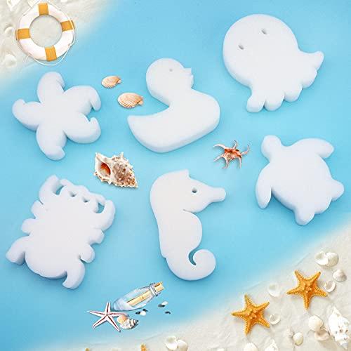 Gukasxi 24 esponjas absorbentes de aceite para bañera de hidromasaje, lindas formas,...