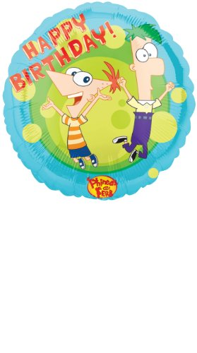 Disney Amscan 18ic Phineas and Ferb Birthday