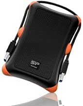 $49 Get Silicon Power 1TB Rugged Portable External Hard Drive Armor A30, Shockproof USB 3.0 for PC, Mac, Xbox and PS4, Black