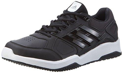 Adidas Herren Duramo 8 Trainer Turnschuhe, Schwarz (Negbas/Negbas/Ftwbla), 42 EU