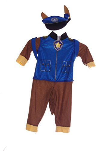 PAW Patrol Chase Talking Costume 2T-3T