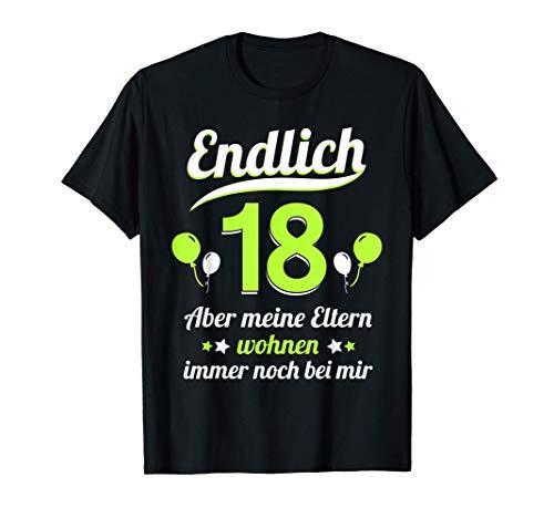 18. Geburtstag Spruch Teenager 2003 Deko Mann Frau Geschenk T-Shirt