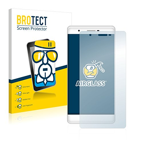 BROTECT Panzerglas Schutzfolie kompatibel mit Phicomm Passion 2S - AirGlass, 9H Festigkeit, Anti-Fingerprint, HD-Clear
