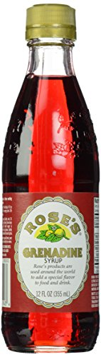 Rose's Grenadine Syrup, 12 Ounce