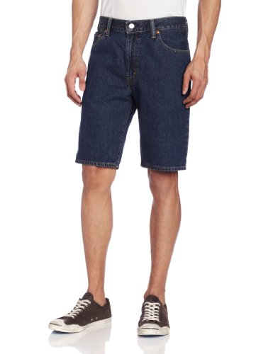 Levi's Men's 505 Regular Fit Short, Dark Stonewash, 32