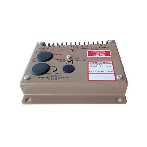 Fácil de instalar Gobernador, grupo electrógeno Tablero de control de velocidad Tablero de control de velocidad, accesorios del generador