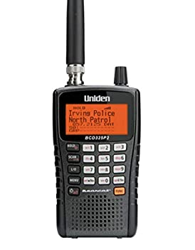 Uniden BCD325P2 Handheld TrunkTracker V Scanner 25,000 Dynamically Allocated Channels Close Call RF Capture Technology Location-Based Scanning and S.A.M.E Weather Alert Compact Size.