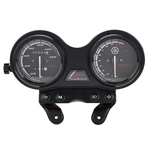 Duokon DC 12Vオートバイ走行距離計 バイク12000RPM LCD走行距離計スピードメーター ヤマハYBR 125用