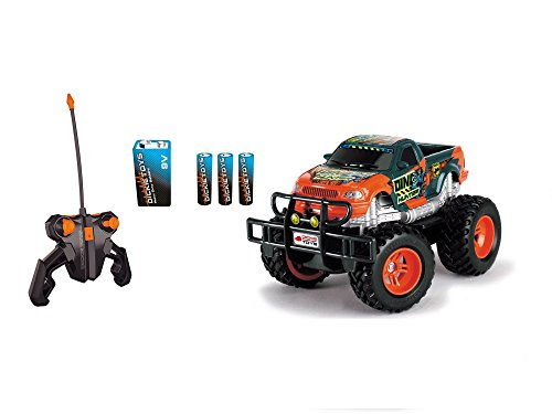 Dickie Toys 201119077 - RC Dino Hunter, funkferngesteuerter Monstertruck inklusive Batterien, 19 cm*