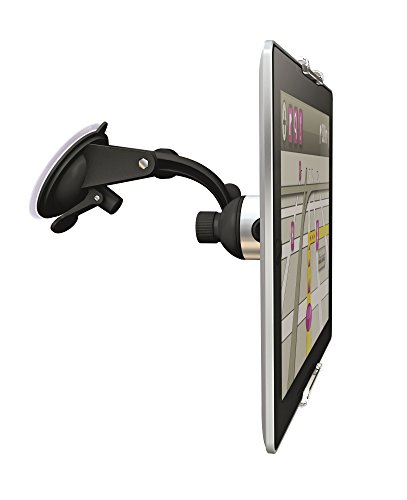 Vogel's TMS 1050 Windscreen tablet wall bracket for all tablets from 7-13 inch, Swivel, Also suitable for iPad Air/Mini/Pro, Samsung Galaxy Tab/Note, Nexus 7/10, Black