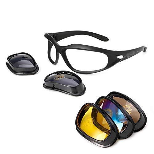 STARKWALL Entrega Libre Polarizada De La Lente De La Motocicleta Del Sol Gafas Protectoras Gafas De Deporte Envolver Montar Ciclismo Motorista Windproof