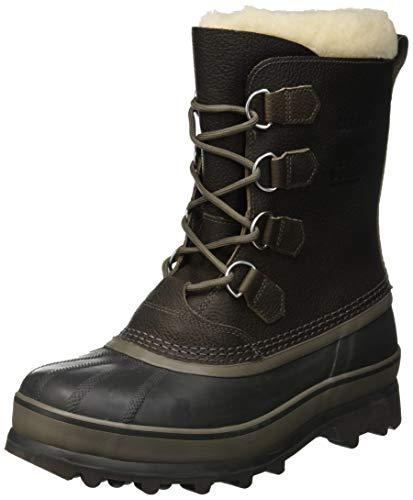 Sorel Herren Caribou WL Boots, grau quarry)/dunkelgrau (buffalo), Größe: 44