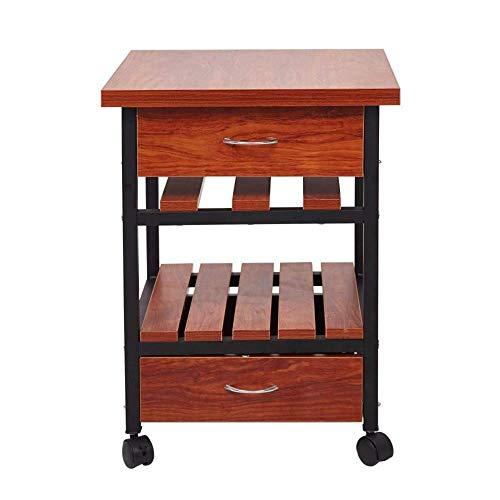 Kutera Nachtkastje, nachtkastje, salontafel, tijdschriftenrek, modern, eenvoudig massief hout, kleine tafel, beweegbare slaapkamer, woonkamer
