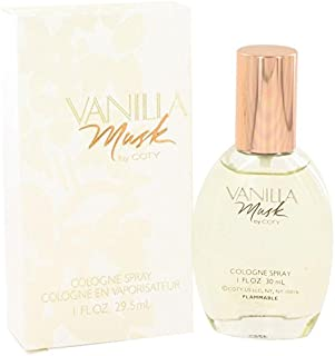 Vanilla Musk by Coty Cologne Spray 1 oz for Women - 100% Authentic