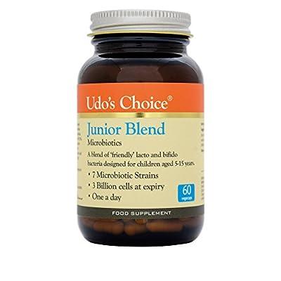Udo's Choice Junior Blend Probiotics - 60 Vegicaps