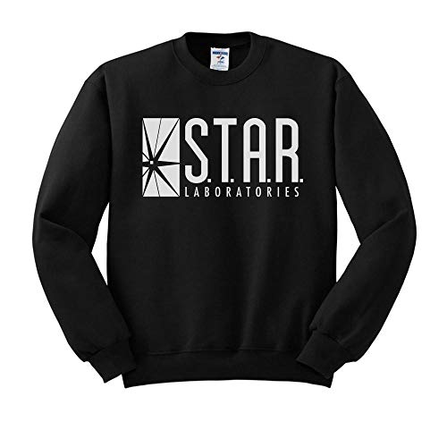 Star Labs Logo Sweatshirt Unisex 3X-Large Black