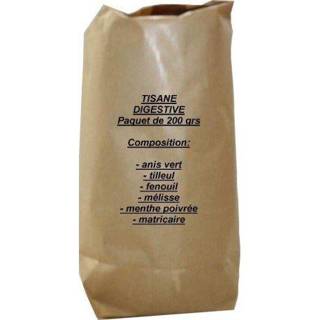 Tisane digestive paquet de 200 grs