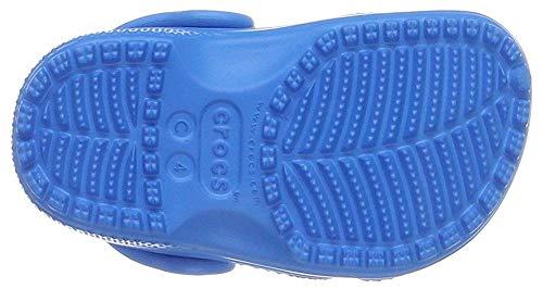 crocs Kid's Classic K Clog 10006, Red, 4-5 M US Toddler