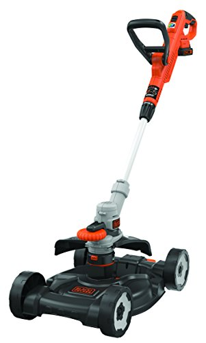 BLACK+DECKER STC1820CM-QW 3-in-1 Tagliabordi, Bordatura e Rasaerba a Batteria Litio 18 V...