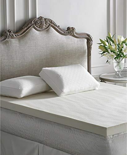 """Lauren Ralph Lauren 3"""" Latex Fusion Memory Foam Full Mattress Topper Bedding"""