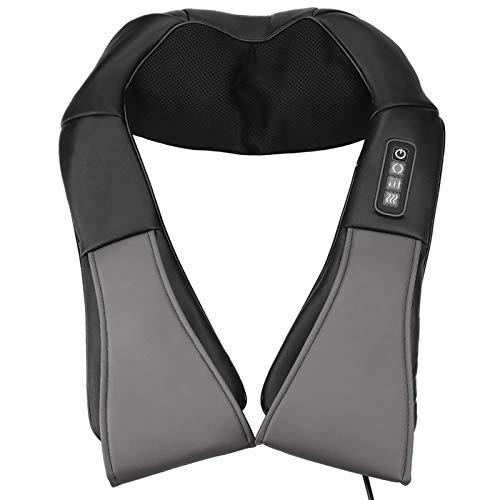 Festnight Masajeador de cuello y hombros con calor Cinturón de masaje de...