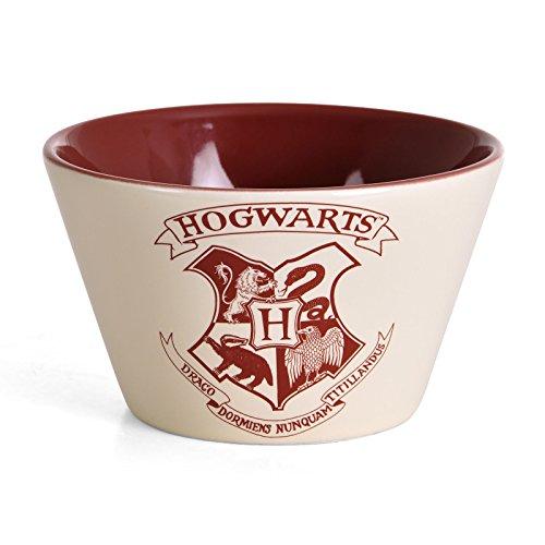 Harry Potter Hogwarts Wappen Müslischale - Hogwarts Logo Schüssel Hogwarts Müslischüssel Zauberei Schale
