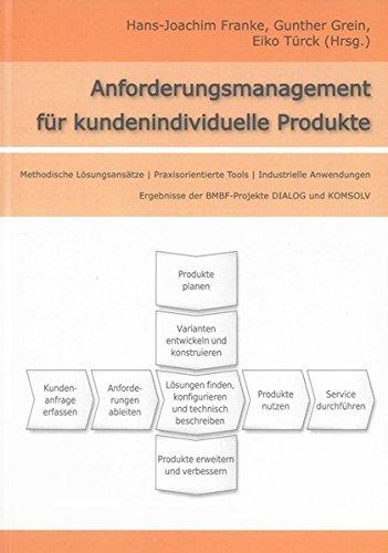 Anforderungsmanagement für kundenindividuelle Produkte: Methodische Lösungsansätze - Praxisorientierte Tools - Industrielle Anwendungen. Ergebnisse ... und KOMSOLV (Berichte aus dem Maschinenbau)