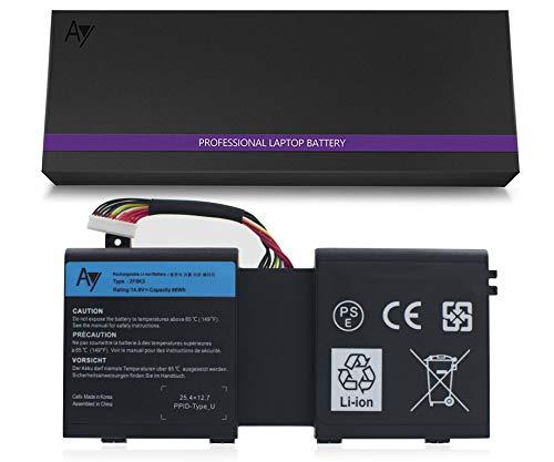 AYIPE DELL 2F8K3 Batería [14.8V /86Wh], batería para DELL Alienware 17 18...