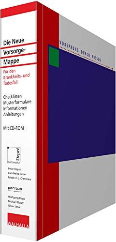 Die Neue Vorsorge-Mappe mit CD-ROM und Online-Dienst: Für den Krankheits- und Todesfall: Für den Krankheits- und Todesfall; Checklisten; ... ... Anleitungen; Mit CD-ROM und Online-Dienst