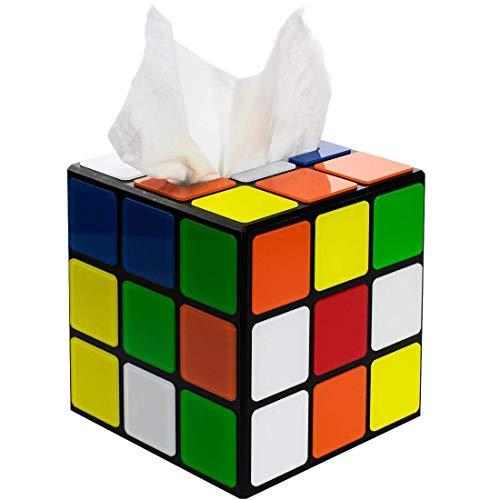 Boîte à mouchoirs en forme de Rubic's Cube