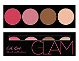 L.A. Girl Beauty Brick Blush Collection, Glam, 1 Count