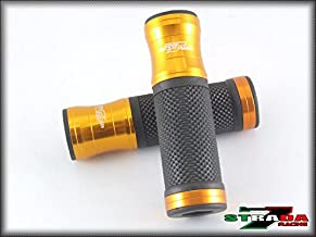 Strada 7 Racing CNC Aluminum Hand Grips Gold For Ducati Monster M750/M750IE