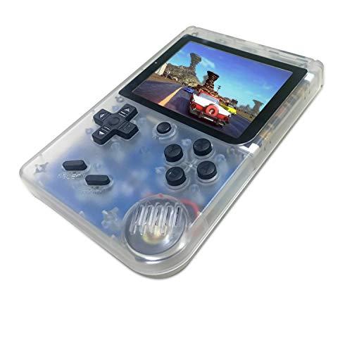 YLM Consoles De Jeux Portable, Console de Jeu Retro FC, Console de Jeu vidéo pour système de Divertissement avec 3 Pouces 168 Jeux Classiques, Cadeau d'anniversaire pour Enfants (Noir)