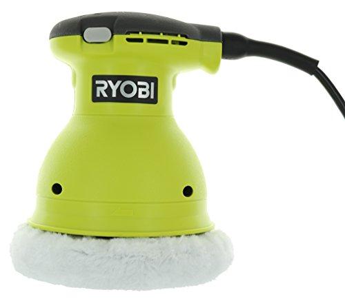 Ryobi RB61G de 6 pulgadas con cable de 120 voltios de CA, .5 Amp 4.800 OPM con pulidora orbital sin remolinos