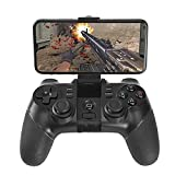 QCHEA 2,4 G Wireless Game Controller Bluetooth Gaming Gamepad Joystick for Android-Handy/PC...