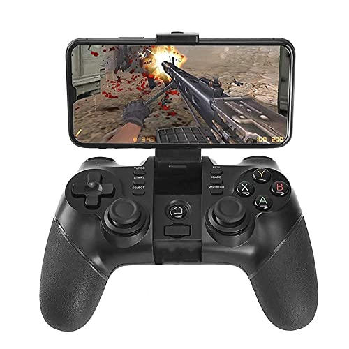 QCHEA Controlador inalámbrico de Juegos 2.4G Bluetooth Gaming Gamepad Joystick for teléfono Android/PC Windows/Tablet/Smart TV/TV Box / PS3 - Android