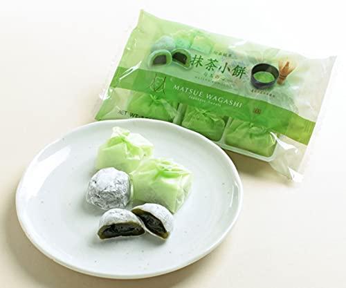 中浦食品 伝統銘菓 抹茶小餅 勾玉の心 MATSUE WAGASHI 6袋セット