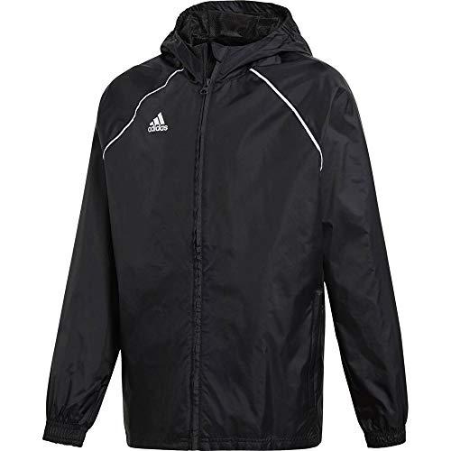 adidas Kinder Core18 RN Jkt Y Jacke, schwarz/weiß, 164