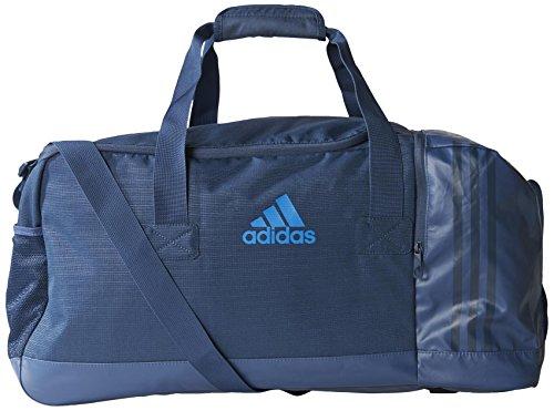 Adidas Borsone 3-Strisce, Colore Mineral Blue, L, 70 x 32 x 32 cm, 87 Litri