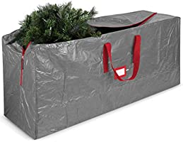 Artificial Christmas Tree Storage Bag - Fits Up to 9 ft Tall Christmas Trees with High Performance Zipper - PE Polyester...