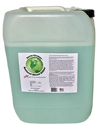 Doctor Kirchner Natural Weed & Grass Killer (5 Gallon) No Hormone Disrupting Chemicals
