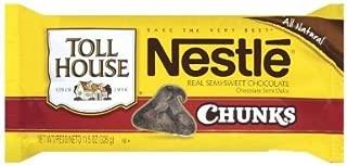 Nestle, Toll House, Semi Sweet, Chocolate Chunk Morsels, 11.5oz Bag (Pack of 6)