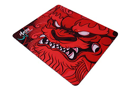 Esports Tiger Master Gaming Mouse Pad - Red, Small (360 x 300 x 4mm)